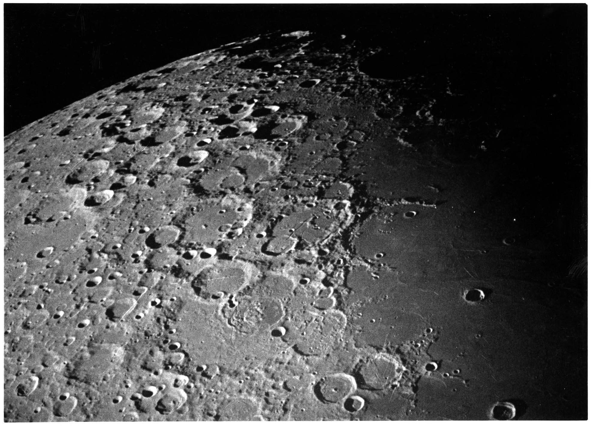 фото луны с космического аппарата челябинского